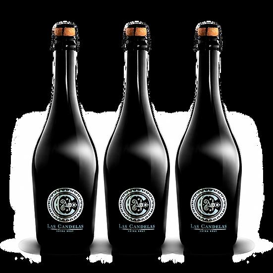 Las Candelas  ·  Extra Brut, 3 botellas