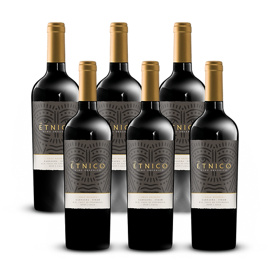 Étnico Gran Reserva · Blend Grenache & Syrah, 6 botellas