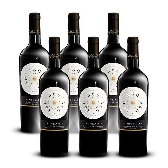 360º Series · Tempranillo, 6 botellas