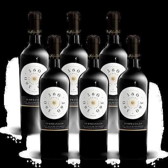 360º Series · Tempranillo, 6 botellas