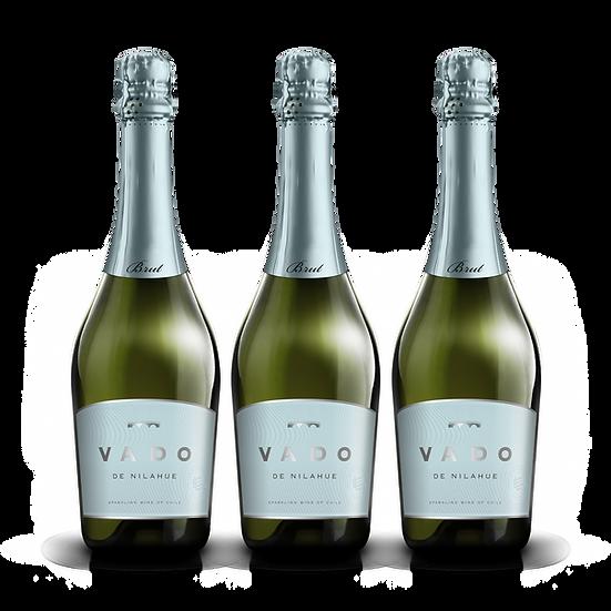 Vado · Brut, 3 botellas