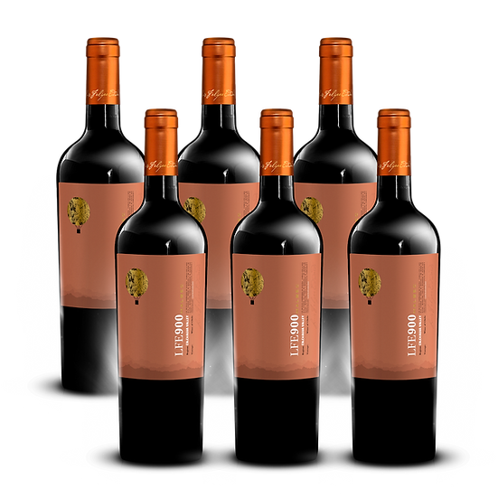 LFE 900 · Malbec, 6 botellas