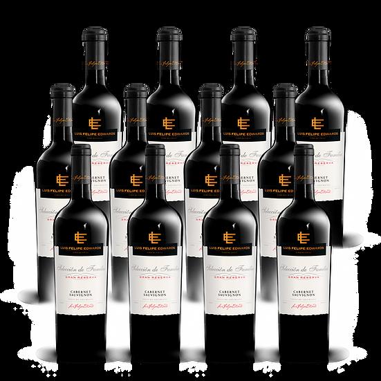 LFE Gran Reserva · Cabernet Sauvignon, 12 botellas