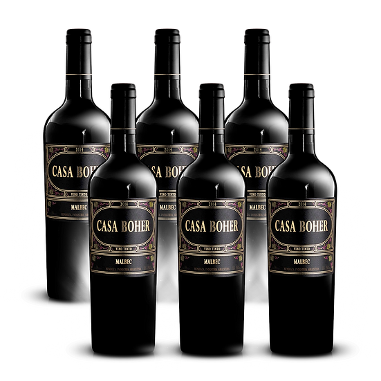 Casa Boher · Malbec, 6 botellas
