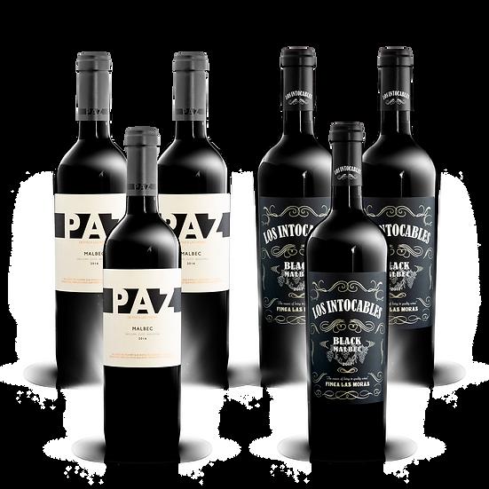 Mix Malbec de Finca Las Moras Nº2 · 6 botellas