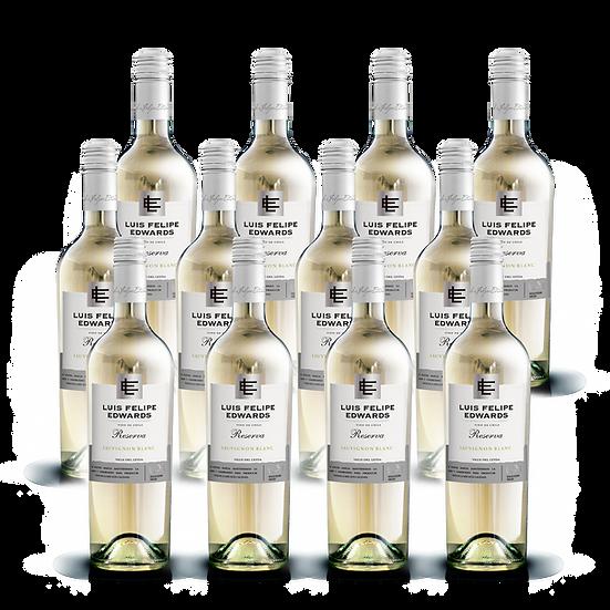LFE Reserva · Sauvignon Blanc, 12 botellas