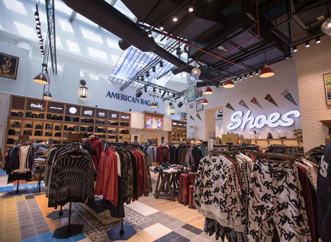 Audiovisual and lighting offering retailers what they can't sell online.