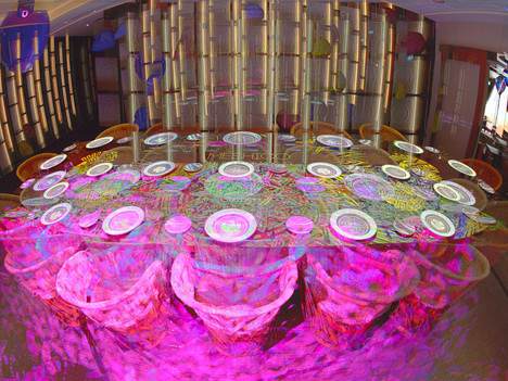 Pulse Middle East designs table-mapping show for Meshico group of restaurants in Dubai