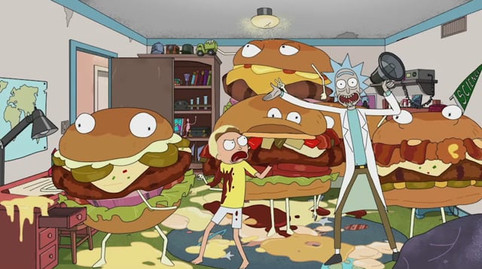 Carl's Jr. + Rick & Morty