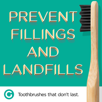 Goodwell.Co // Toothbrushes That Don't Last