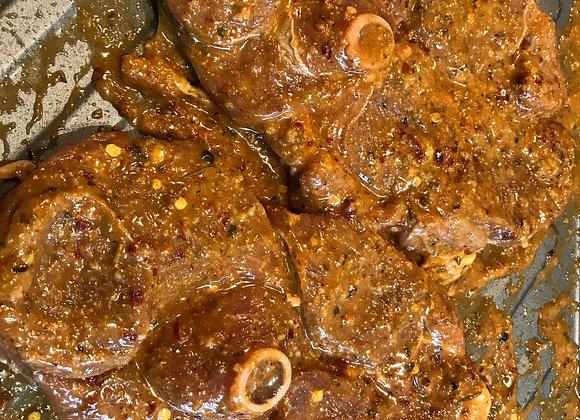 Lamb Leg Steak     per kg