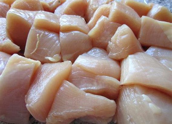 Chicken Breast Cubes   per kg