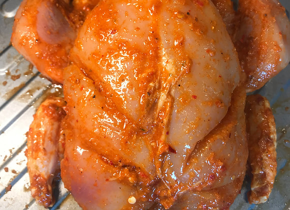 Marinated Whole Chicken Skinless per whole