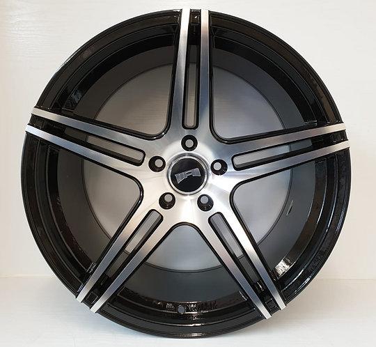 A0205 Black & polish