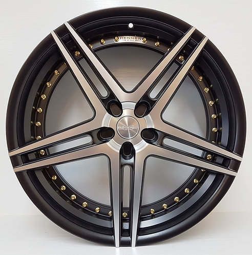 "22"" Rennen staggered CSL3 wheels fits many vehicles"