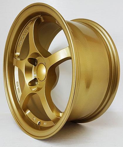 B56733 Gold Satin