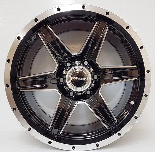 "18"" 6/139 wheels in black & machined finish, ford,maazda,toyota,mitsubishi,others"