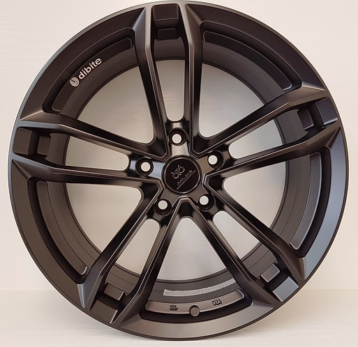 Satin Black staggered Dibite wheels 5/120 BMW,INSIGNIA,others