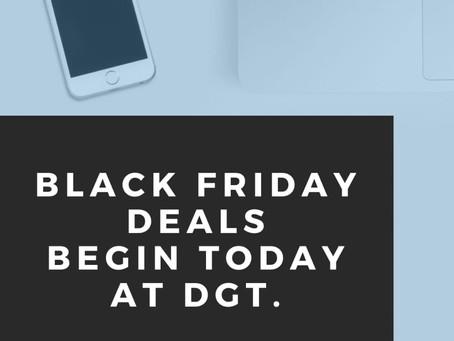Black Friday Sale Begins