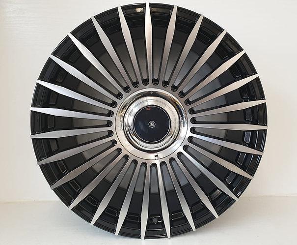 A1756 Black & Polish Turbine