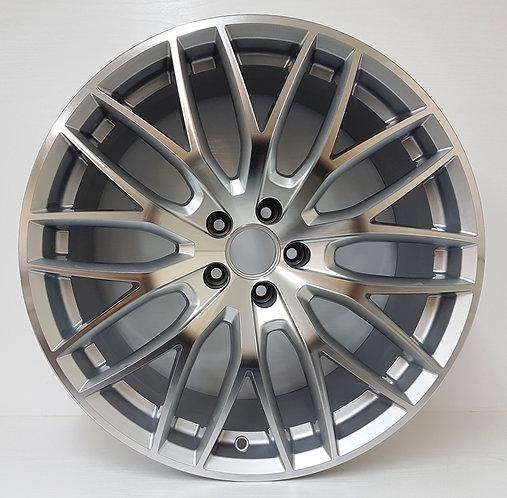 A4566 Silver Mesh Concave