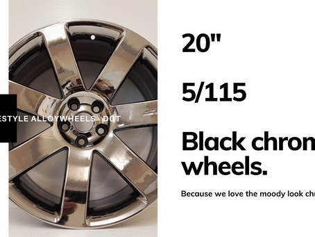 Black Chrome 'Moods' wheels
