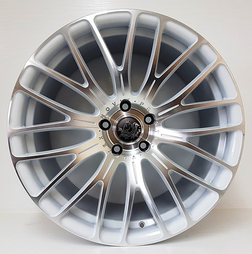 B54557 White & Machined