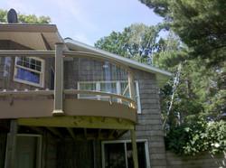 Bobs Lumber custom deck 1