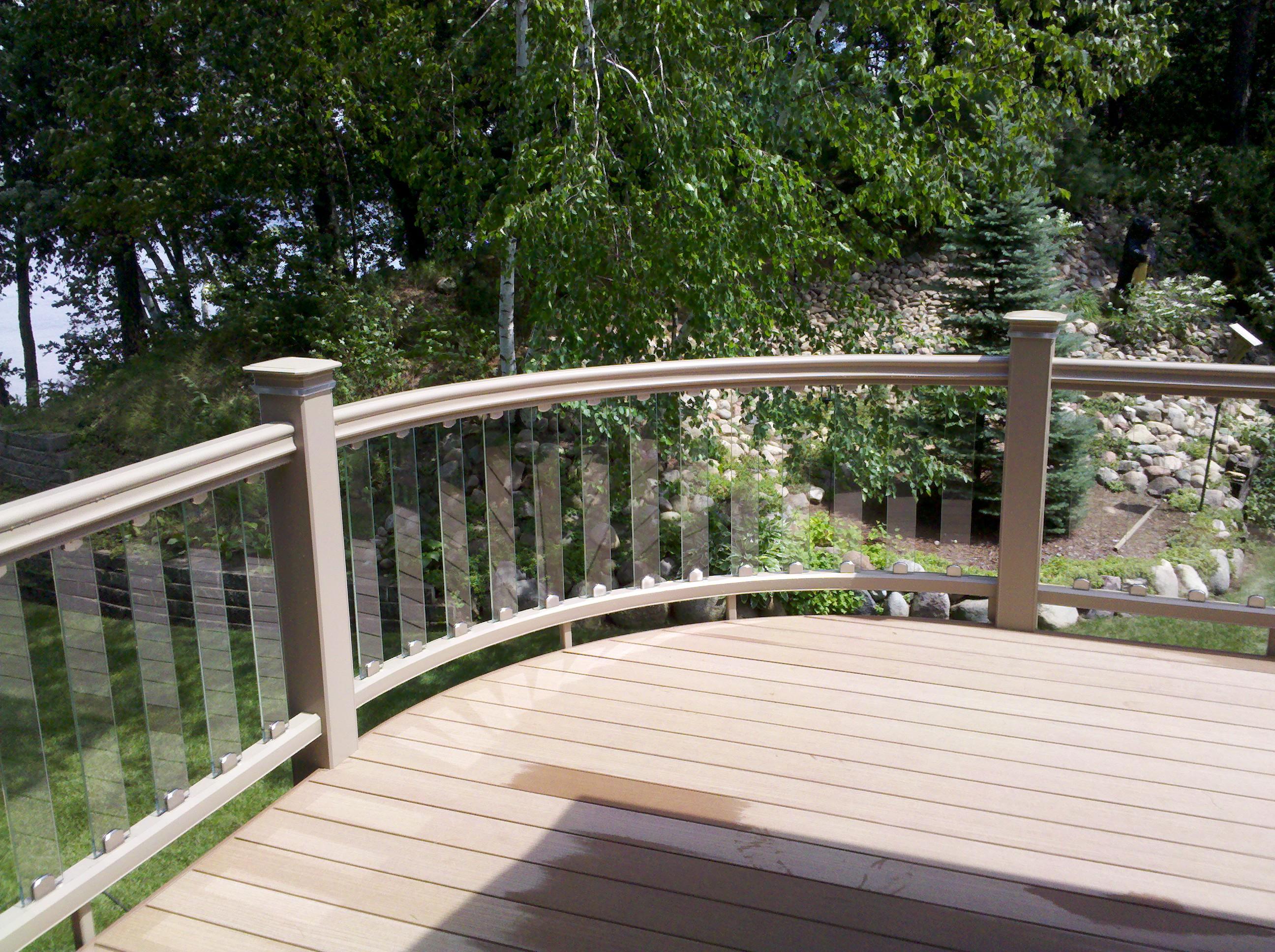 Bobs Lumber custom deck 2