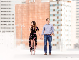 Rachel & Damian | Downtown Dallas Couples/Family Session | Dallas, TX