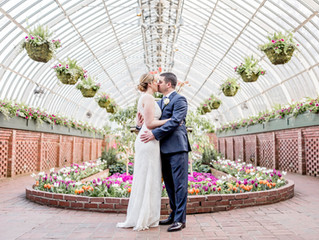 Intimate Phipps Conservatory Elopement | Pittsburgh, PA Elopement Photographer