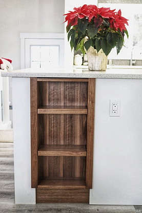 Custom Island cabinets