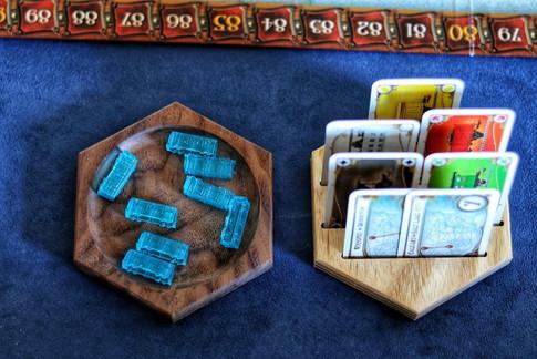 Board game tiles