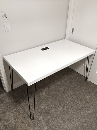 Custom Hairpin leg desk