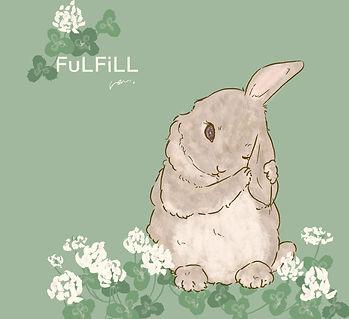 ウサギ シロツメクサ.jpg