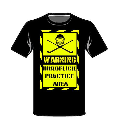 Dragflick Warning T-Shirt