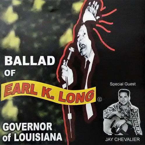 Ballad of Earl K Long CD