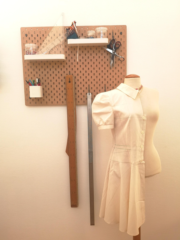 Modélisme   Le corsage et la robe