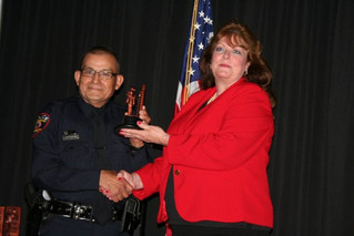 Lone Star College Police Officer honored
