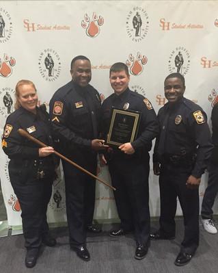 SHSU Police CORE Team receives new award