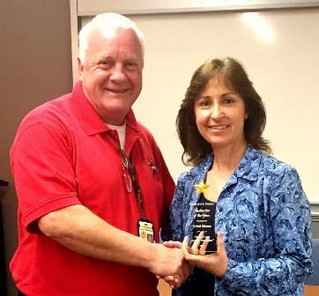 TAMU PD Officer recognized as 2015 Texas Alive Team's Instructor of the Year