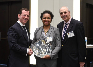 Police Commissioner Lauretta Hill Receives PERF's Gary P. Hayes Award