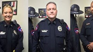 Promotions at Lamar University Police