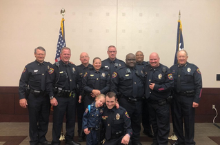 Police Officer's Daughter Made Honorary Collin College Cop