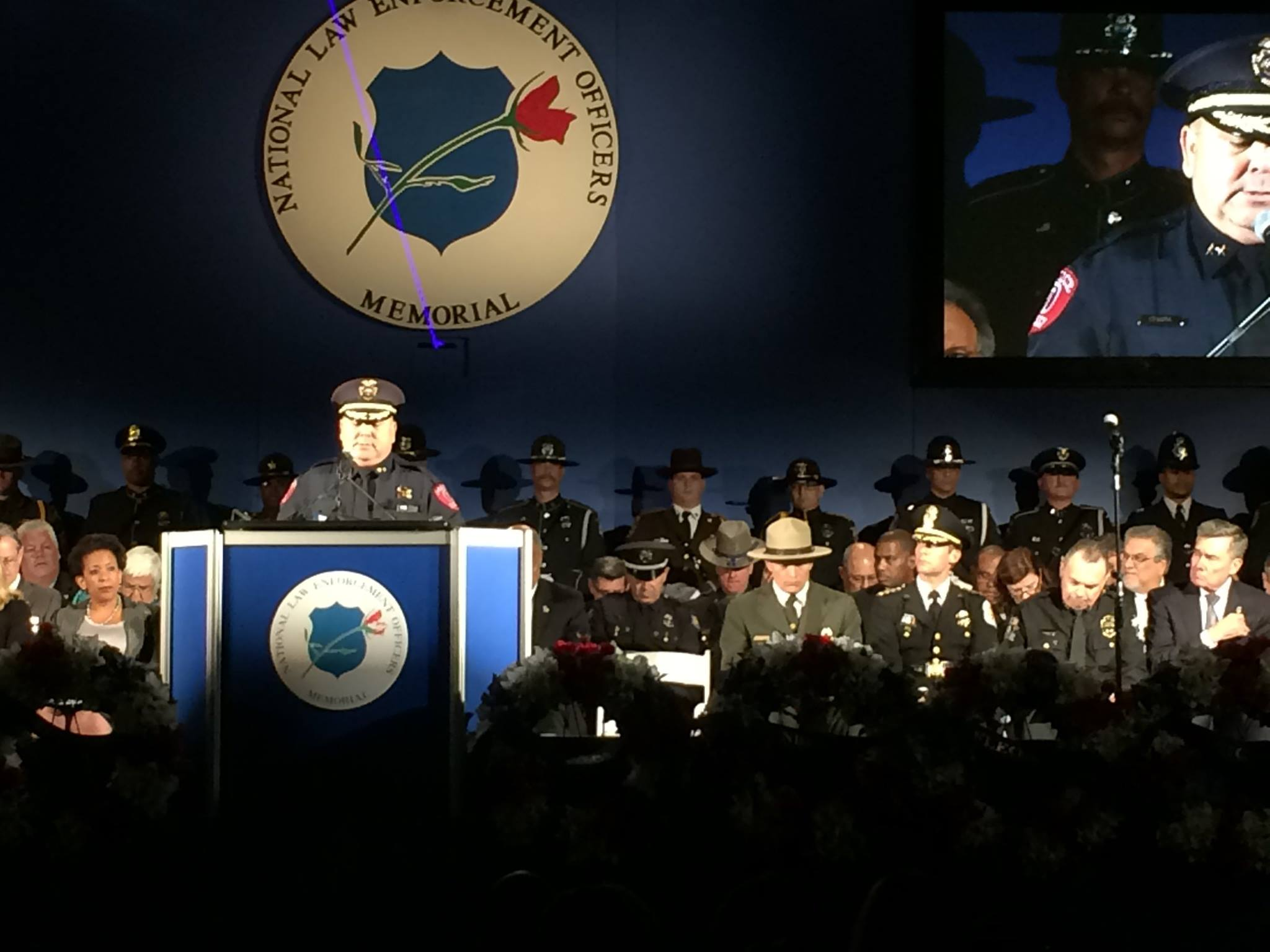 Honoring Officer Kelley