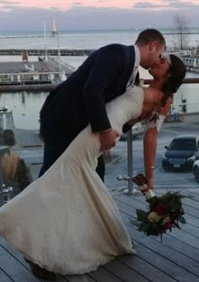Bride and Groom on Deck.jpg