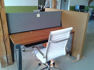 Acoustic Desk Privacy Wall