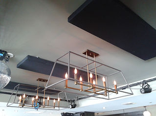 The British Hotel Aylmer acoustic ceiling panels