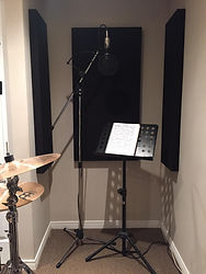 Vocal Isolation with Acoustic Panels