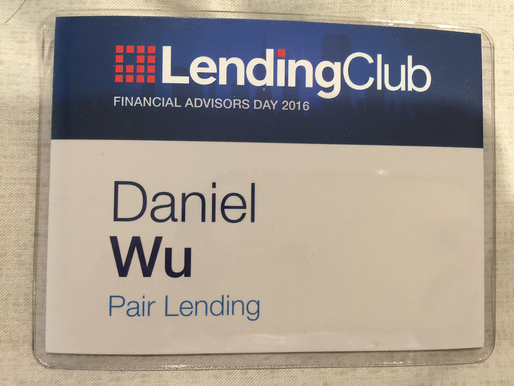 Report on recent visit to Lending Club